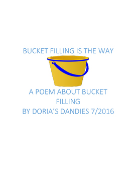 Bucket Filling is the Way