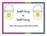 Bucket Filling vs. Bucket Dipping