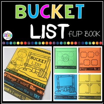 Bucket List Flip Book