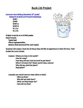 Bucket List Project
