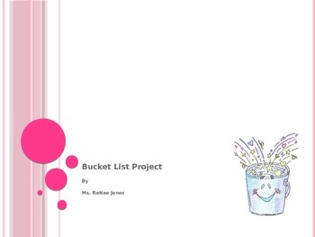 Bucket List Project Power Point