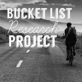 Bucket List Research Project