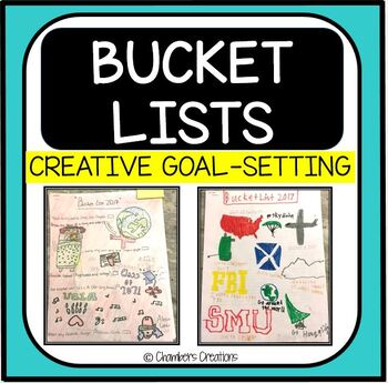 Bucket Lists- Goal Setting, AVID, Last Lecture Book Series