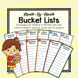 Bucket Lists for Every Month