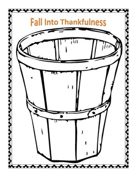 Bucket Of Thankfulness