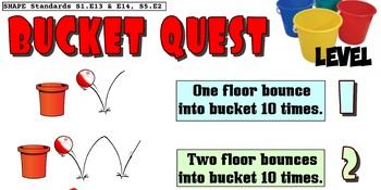 Bucket Quest Skill Progression - 6 Levels!