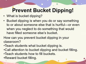 Bucket Theory Activities & Ice-Breakers