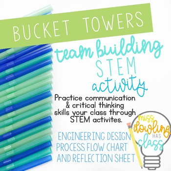 Bucket Tower STEM Team Building Challenge