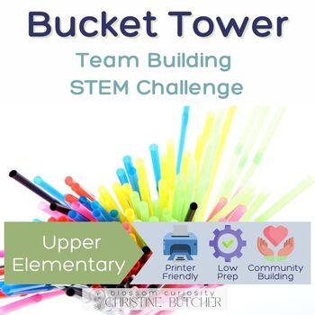 Bucket Tower STEM Team Building Challenge