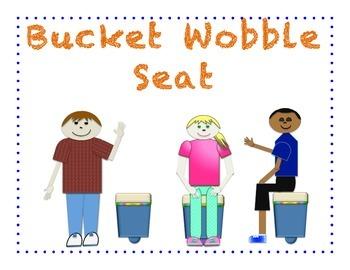 Bucket Wobble Seat