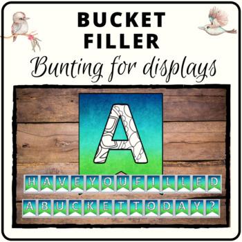 Bucket filler bunting
