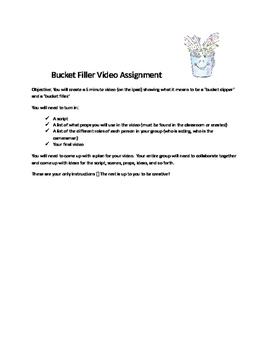 Bucket filler video assignment