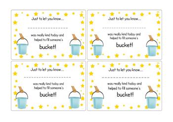 Bucket filling certificates