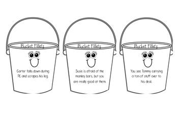 Bucket filling scenarios