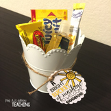 Bucket of {Sunshine} Tags