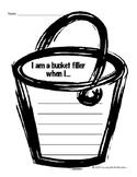 Bucketfilling Writing Sheet