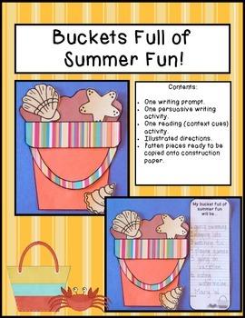 Buckets Full of Summer Fun!