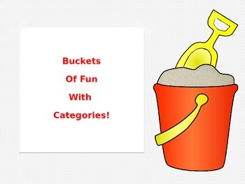 Buckets of Fun with Categories