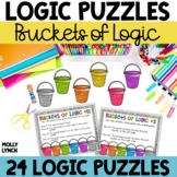 Buckets of Logic Problem Solving {Logic Puzzles}
