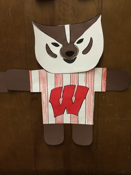 Bucky Badger - Wisconsin Badgers