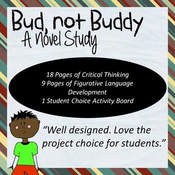 Bud Not Buddy Novel Study Worksheets Teachers Pay Teachers