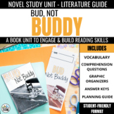 Bud, Not Buddy Novel Study Unit