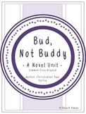 Bud, Not Buddy - A Novel Unit