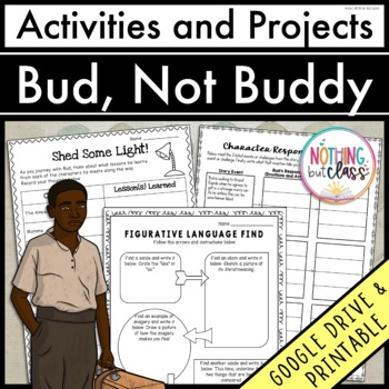 Bud Not Buddy Projects Teaching Resources Teachers Pay Teachers