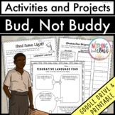 Bud, Not Buddy: Reading Response Activities and Projects Distance Learning