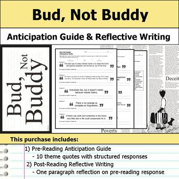 Bud, Not Buddy - Anticipation Guide & Reflection