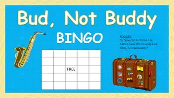 Bud, Not Buddy Bingo