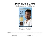 Bud, Not Buddy Book Packet
