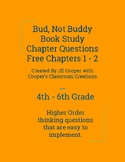 Bud, Not Buddy Book Study Chapters 1 - 2 Free