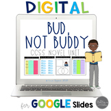 Bud, Not Buddy:  A Novel Study for Grades 4-8 Common Core Aligned