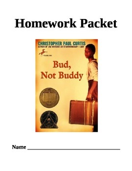 Bud, Not Buddy Common Core Comprehension Questions
