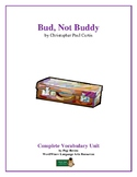 Bud, Not Buddy: Complete Vocabulary Unit—A Unique Approach!