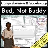 Bud, Not Buddy: Comprehension and Vocabulary by chapter Distance Learning