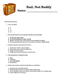 Bud, Not Buddy Comprehension Questions