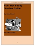 Bud, Not Buddy Comprehensive Unit and Teacher Guide