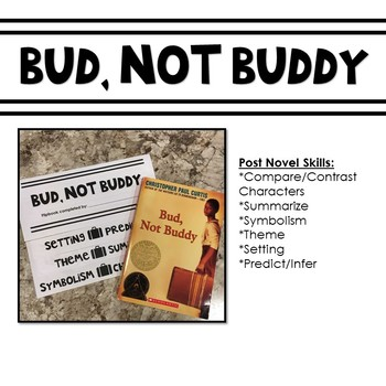 Bud Not Buddy Suitcase Teaching Resources Teachers Pay Teachers