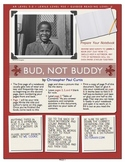 Bud, Not Buddy Internet Book Project