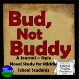 Bud, Not Buddy Journal Style Novel Study
