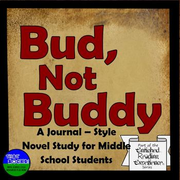 Bud, Not Buddy Journal Style Novel Study