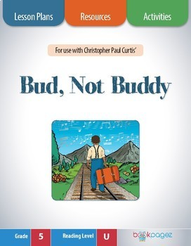Bud, Not Buddy Lesson Plan  (Book Club Format - Text Struc