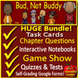 Bud, Not Buddy Novel Study Print AND Google Paperless with Self-Grading Tests
