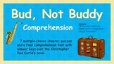 Bud, Not Buddy Multiple-Choice Comprehension
