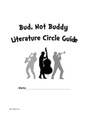 Bud Not Buddy Novel Literature Unit