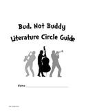 Bud Not Buddy Novel Literature Unit