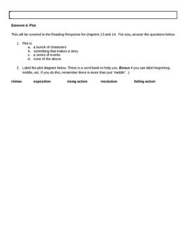 Bud, Not Buddy Novel Resources for Standards RL.5.2, RL.5.5, and RL.5.6