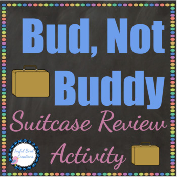Bud Not Buddy Novel Review Suitcase Project By Joyful Bird Creations